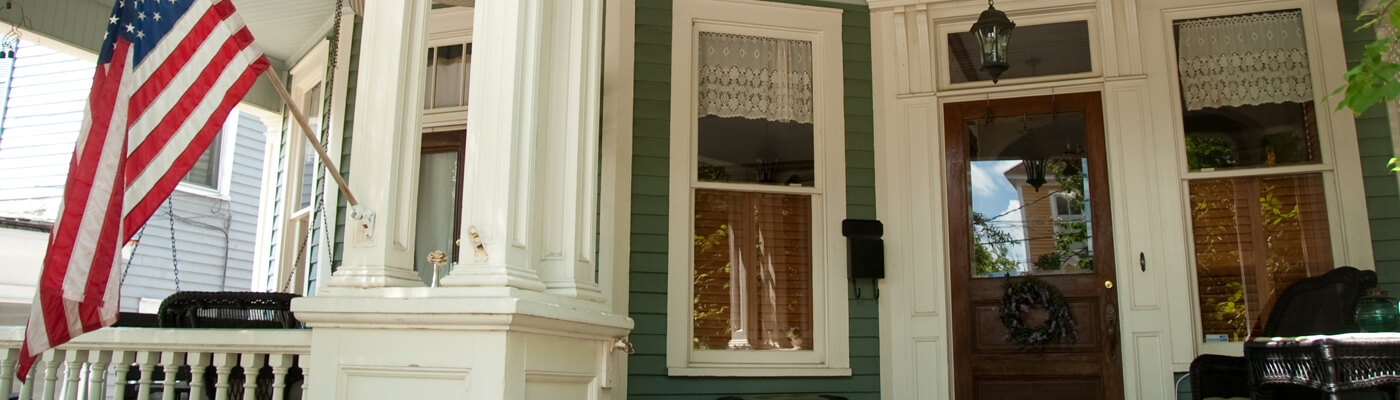 Photo of a front porch in Macon, GA