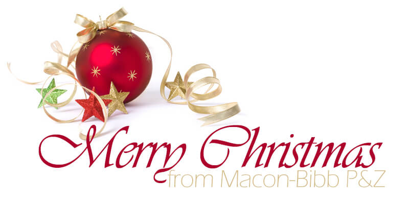 Merry Christmas from Macon-Bibb Planning & Zoning graphic