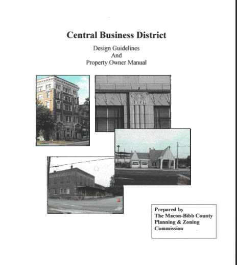 Macon-Bibb Central Business District Guidelines